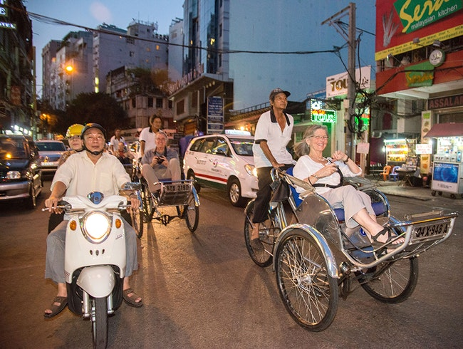 Discover Rickshaws in Southeast Asia