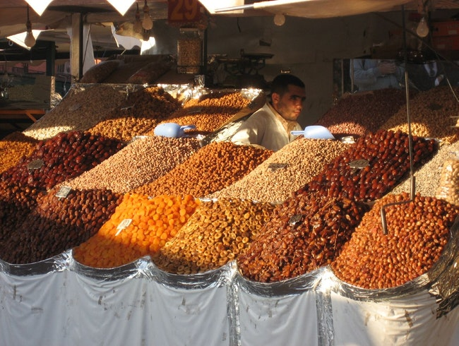 Feast your eyes in Marrakesh's food markets