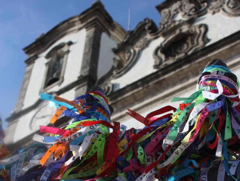 Bonfim Wish Ribbons Salvador  Brazil