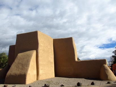 San Francisco de Asis Church Ranchos de Taos New Mexico United States