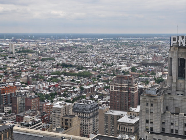 Panoramic views from City Hall tower