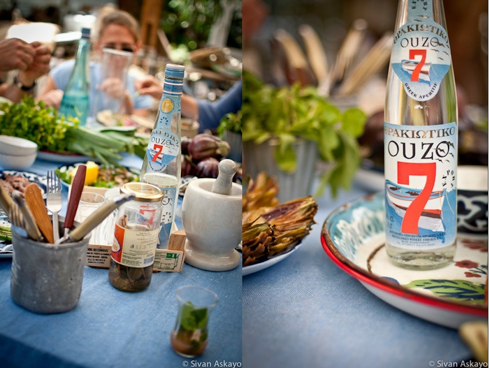 Ouzo for Lunch, for instance Tel Aviv  Israel