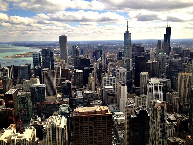 The best FREE view of Chicago...