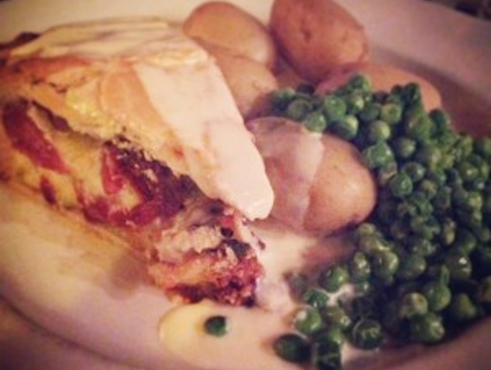 Incredible Savory Pie in the Cotswolds