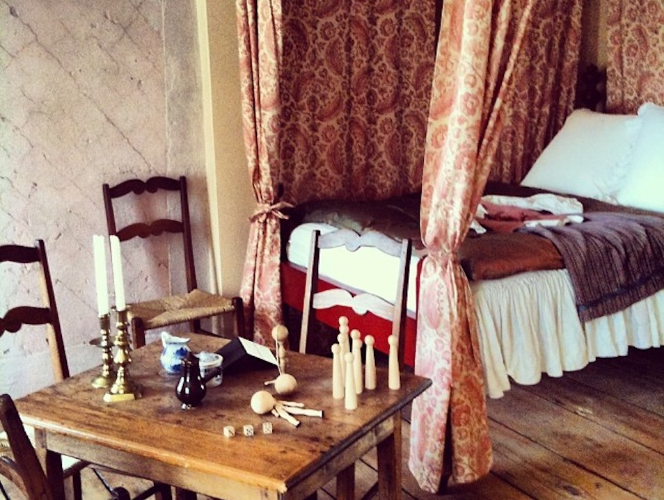 Hints at Quebec's History at Manoir Mauvide Genest
