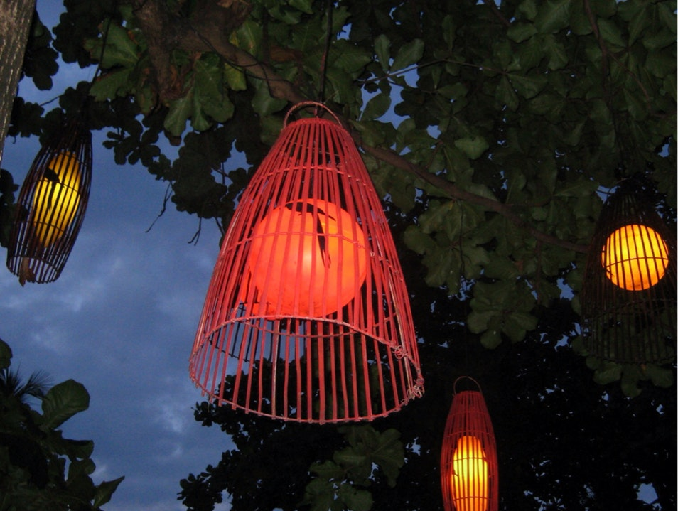 It's Not Colorful Birds But Lights Penebel  Indonesia