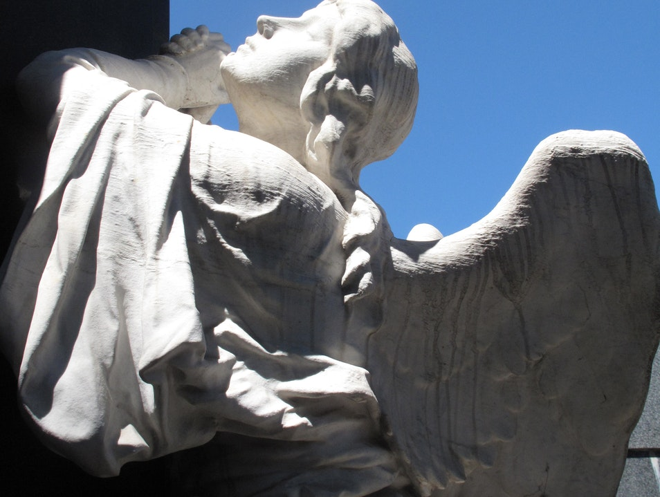 Travel, Faith, and Angels - Recoleta, Cemetery, Buenos Aires, Argentina