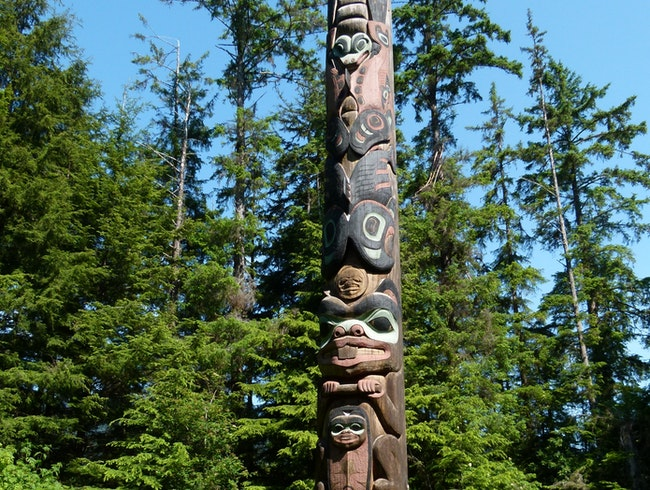 Touring Giant Totems