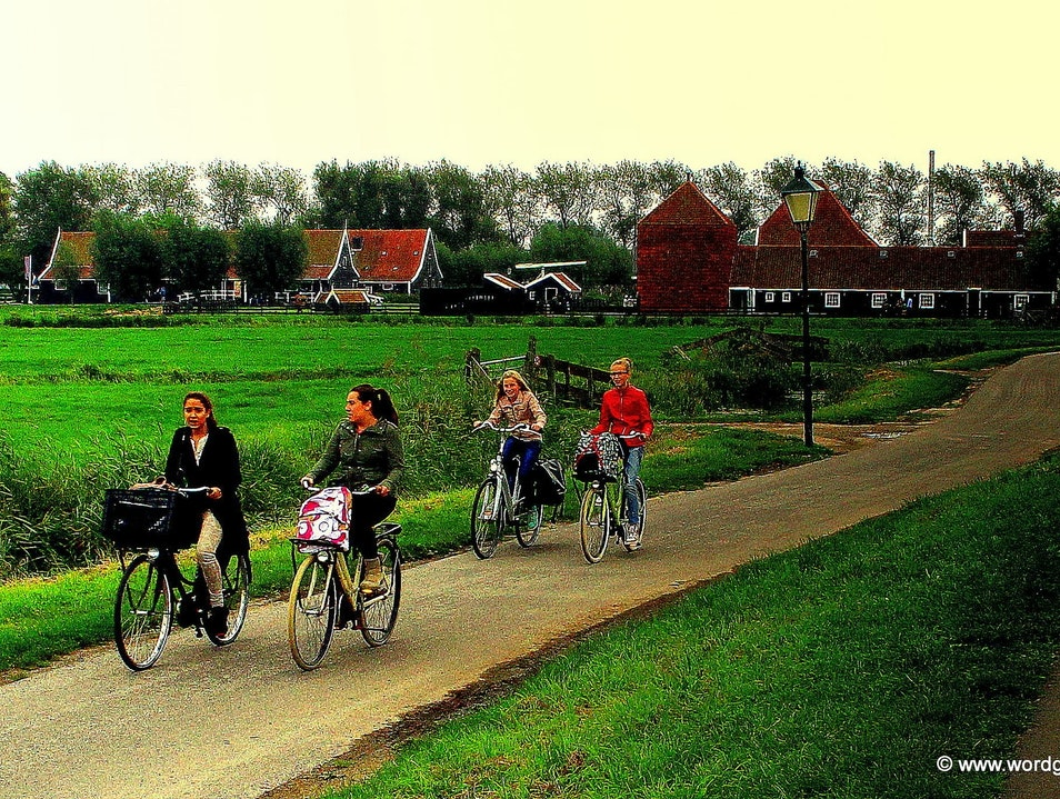 Escaping the City in Bucolic Zaanse Schans Zaandam  The Netherlands