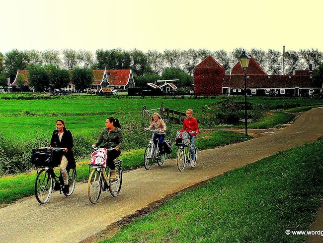 Escaping the City in Bucolic Zaanse Schans