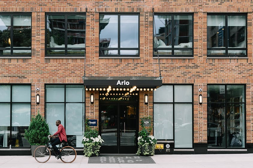 Different room sizes and layouts mean there's something for everyone at Arlo SoHo.