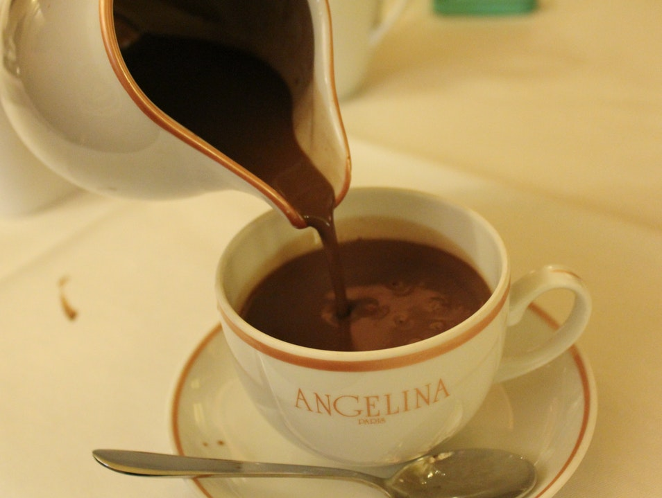 Angelina Hot Chocolate Paris  France