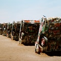 Cadillac Ranch Amarillo Texas United States