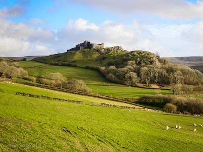 Carreg Cennen Castle Llandeilo  United Kingdom