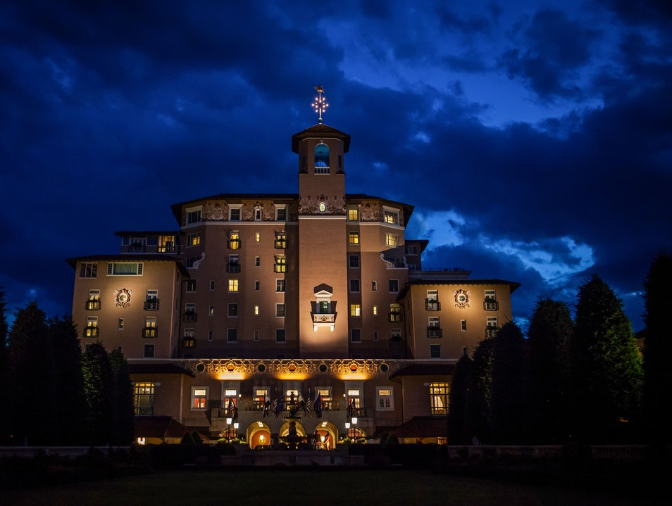 The Broadmoor Colorado Springs Colorado United States