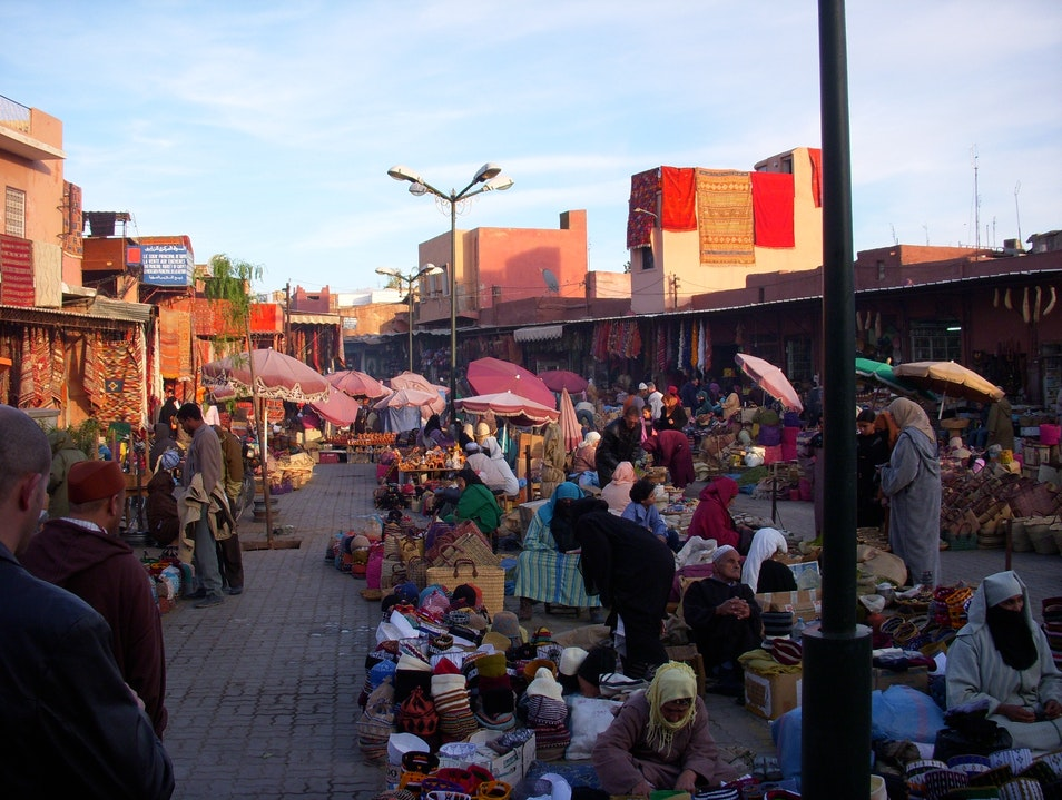 Souks And Markets Of Marrakech, Morocco