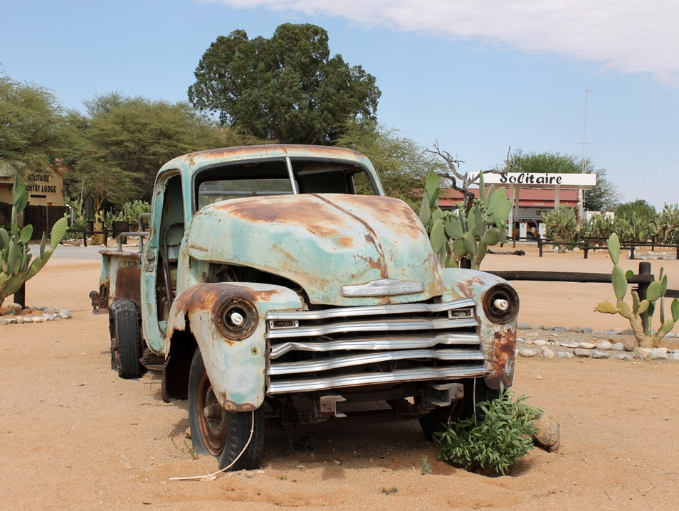Solitaire: A True Desert Town Solitaire  Namibia