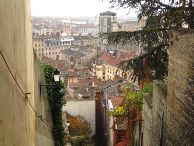A View from Vieux Lyon