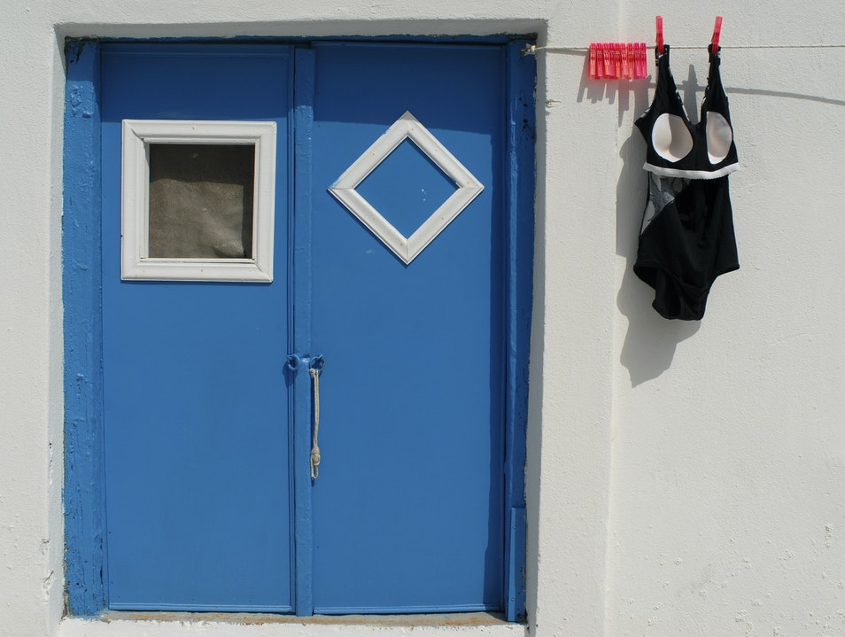 The Bathing Suit Naxos  Greece