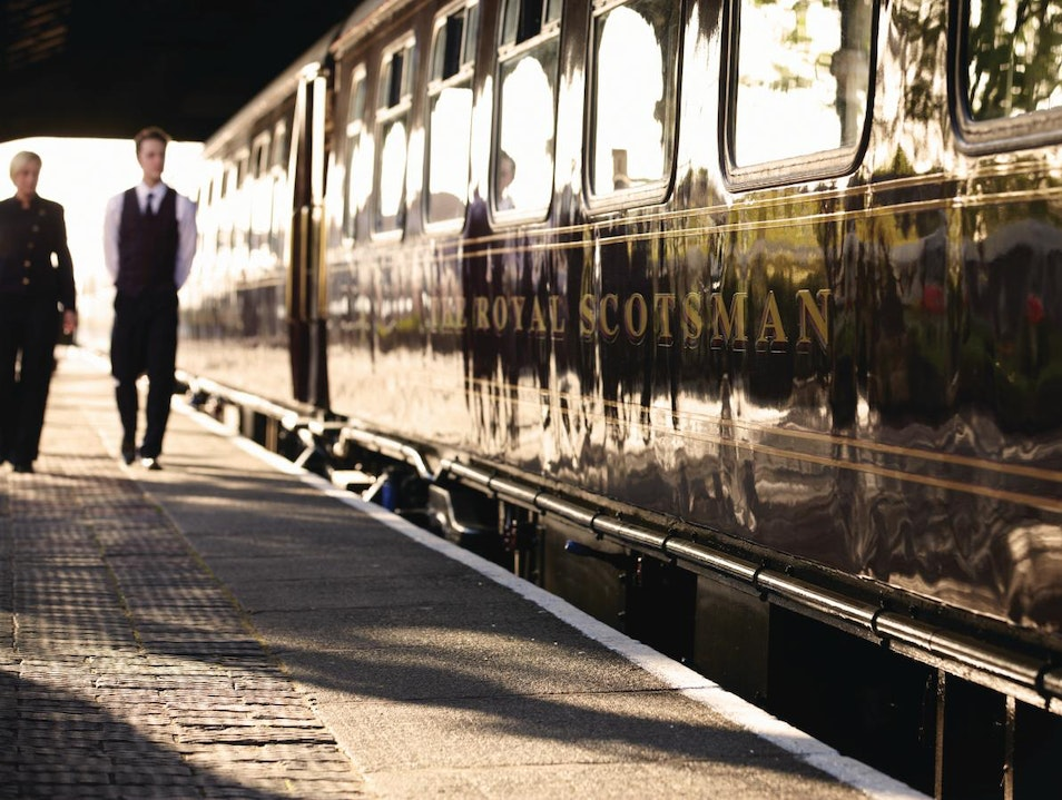 Classic Whisky Journey, The Royal Scotsman Edinburgh  United Kingdom