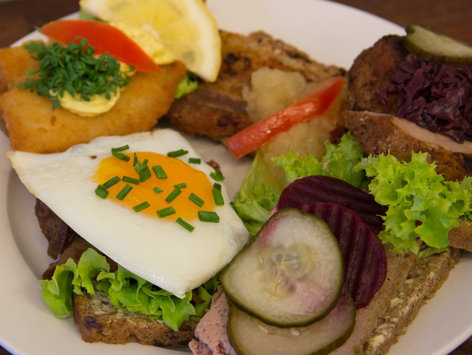 Authentic Local Smørrebrød Copenhagen  Denmark