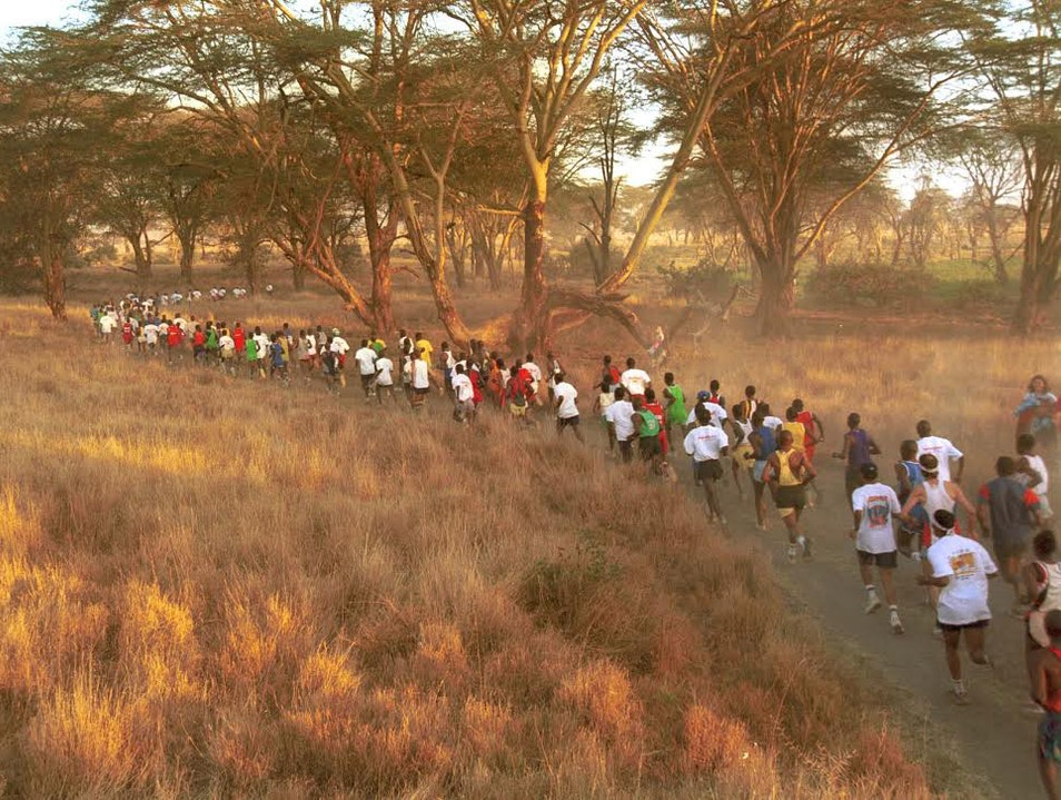 A Marathon through the Kenyan Bush to Save Precious Wildlife from Extinction: Safaricom Marahau  New Zealand