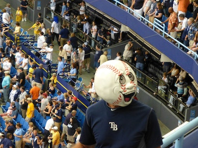 Tropicana Field: Home of the Tampa Bay Rays St. Petersburg Florida United States