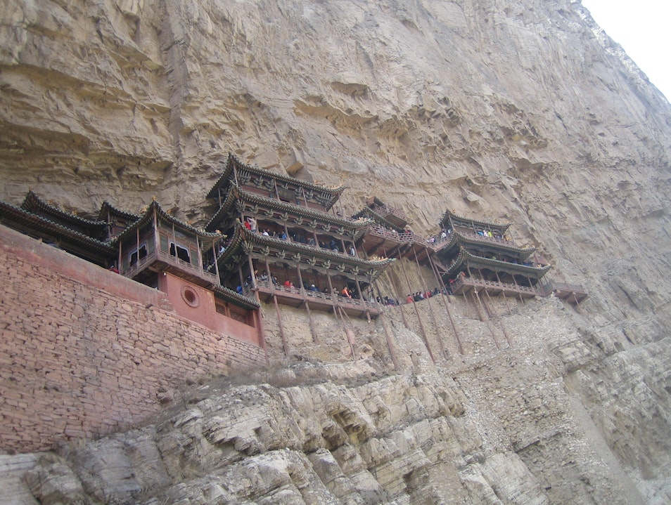 Hanging Monastery in Datong Datong  China