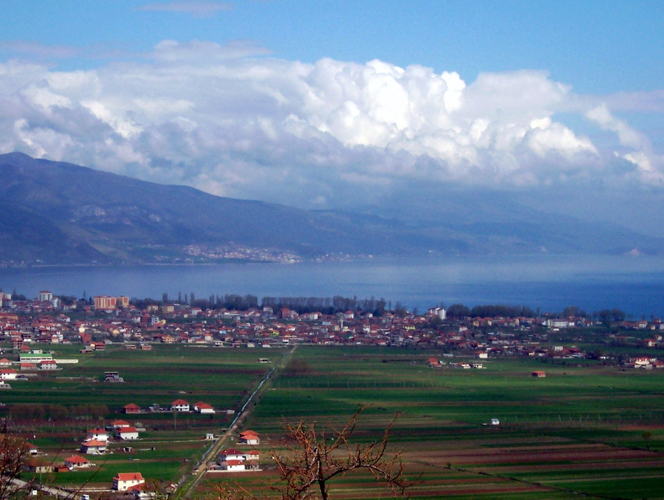 Lake Ohrid, Albania Pogradec District  Albania