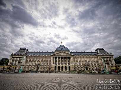 Belgian Royal Palace Brussels  Belgium