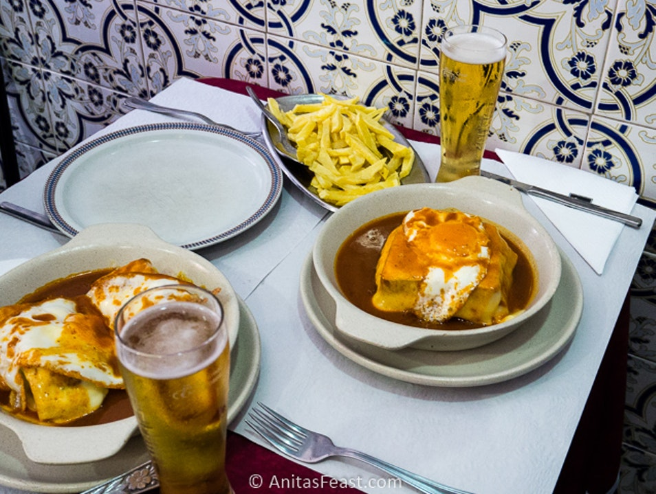 The best Francesinha in Porto? Porto  Portugal