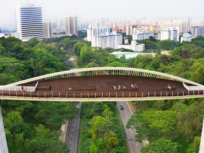 Henderson Waves Bridge Singapore  Singapore