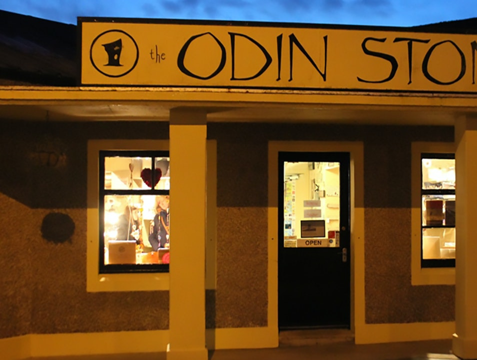 Odin Stone Kirkwall  United Kingdom