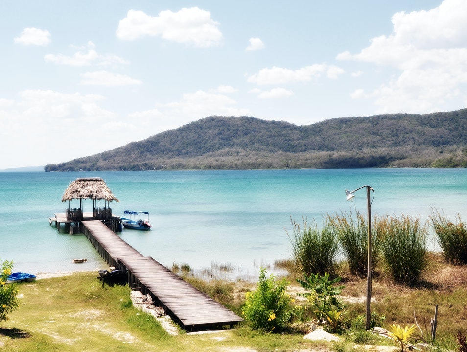 Tranquil paradise at Guatemala's other lake