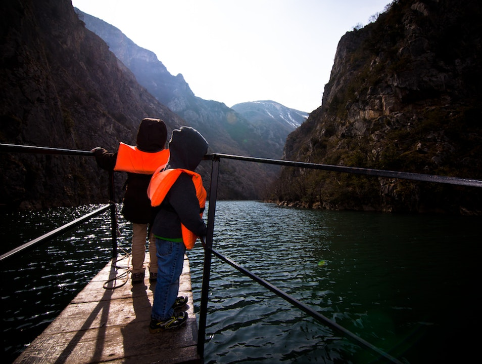 Caving and Boating with Kids Village Matka  North Macedonia