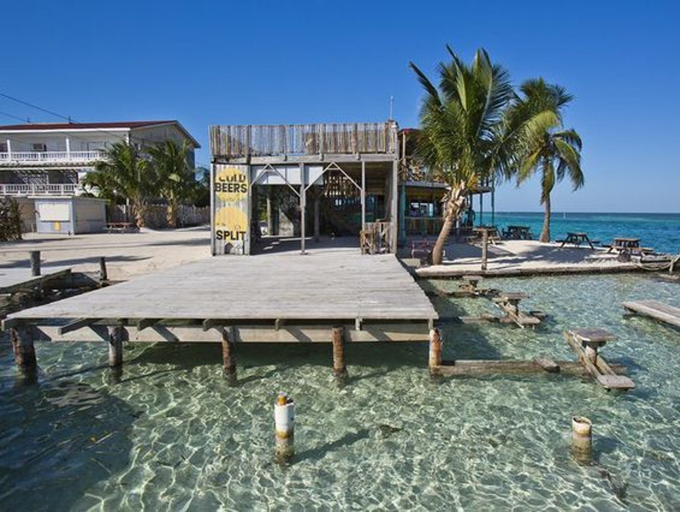 The Split, Caye Caulker Belize  Belize