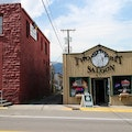 Two Bit Saloon & Restaurant Gardiner Montana United States