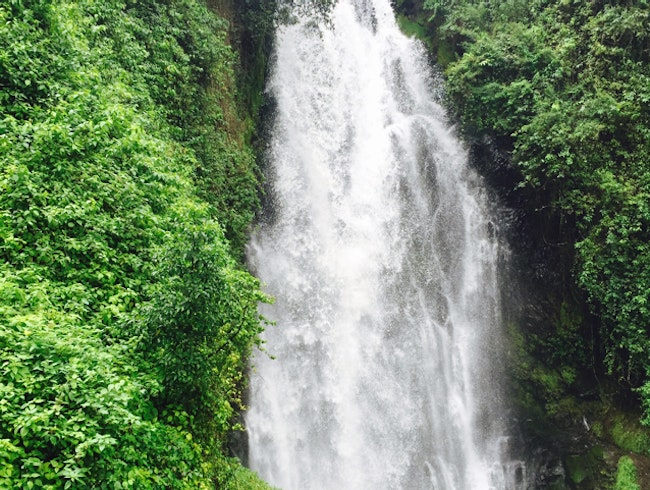 A Waterfall Within Walking Distance of Otavalo