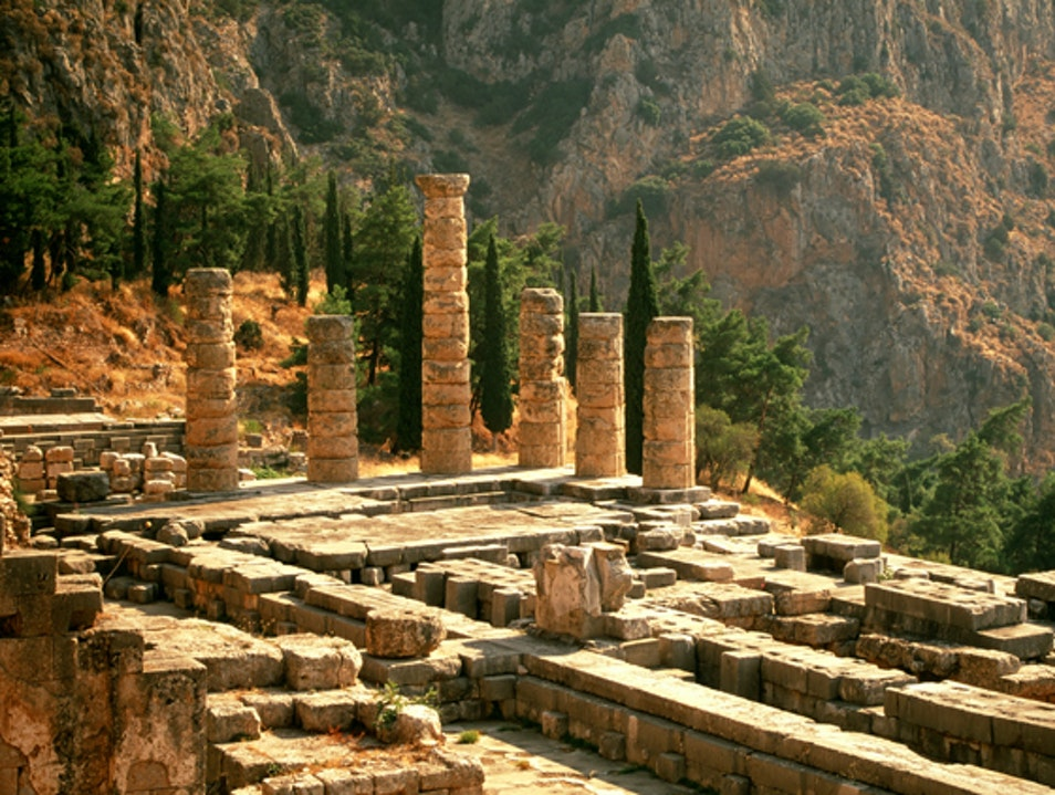 The Oracle Delfi  Greece