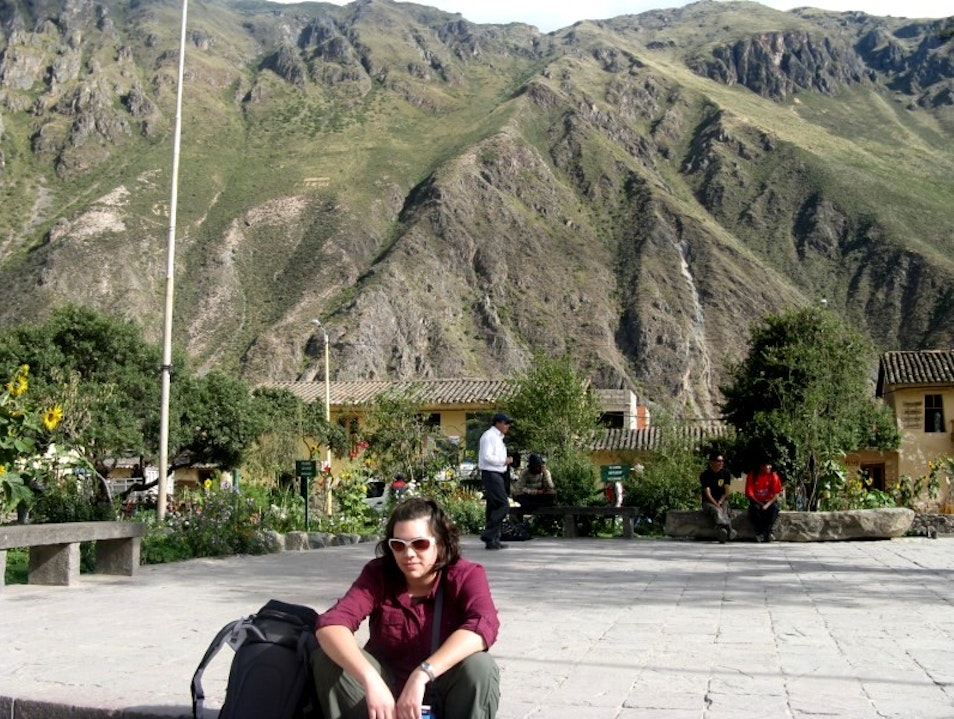 Camera Lost...and Found Ollantaytambo  Peru