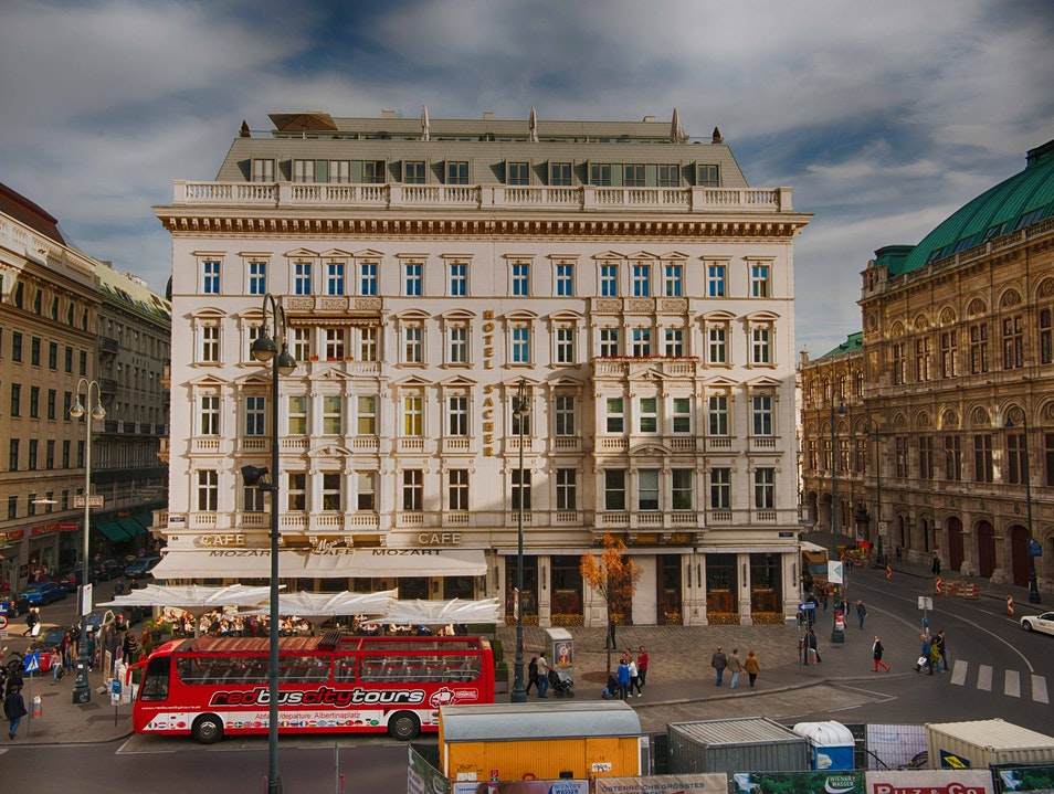 Cafe Mozart and Hotel Sacher