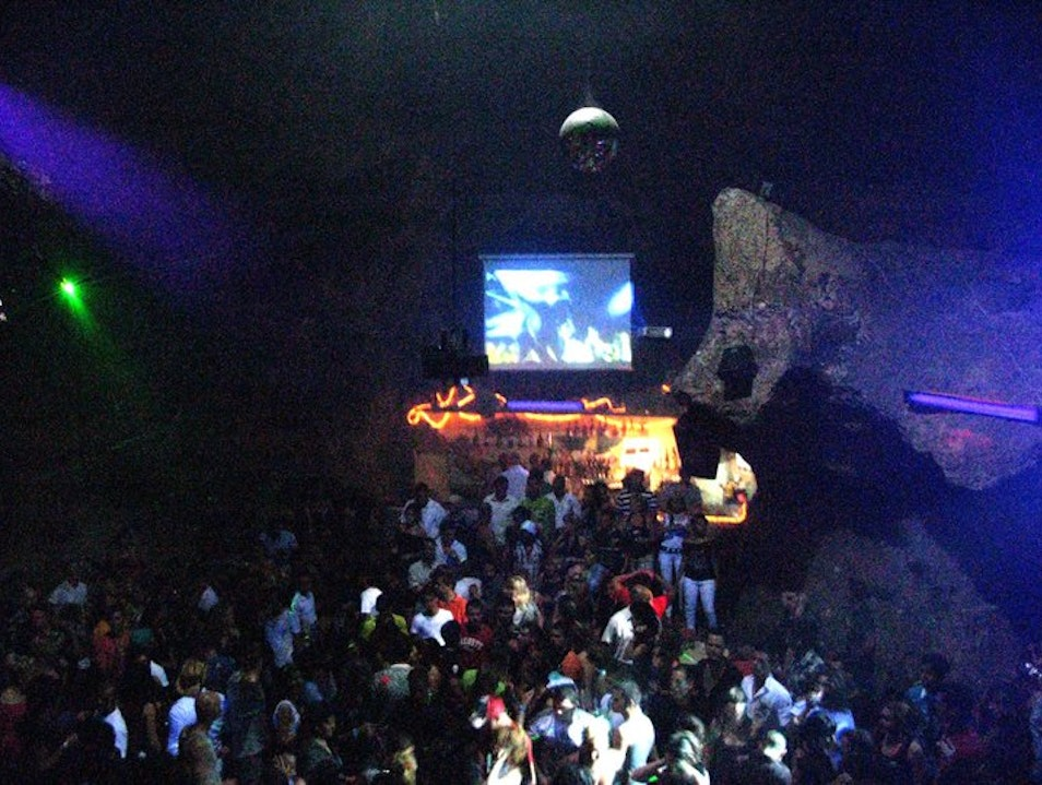 "Club Ayala ""The Cave"" in Trinidad Cuba"