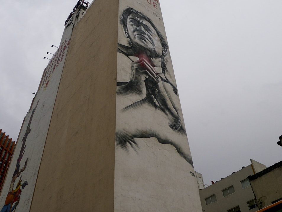 Multistory Street Art