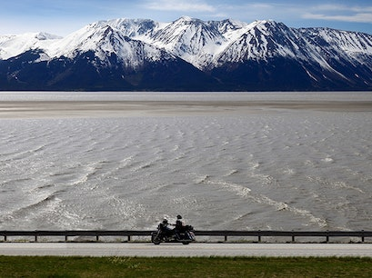 Seward Highway Moose Pass Alaska United States