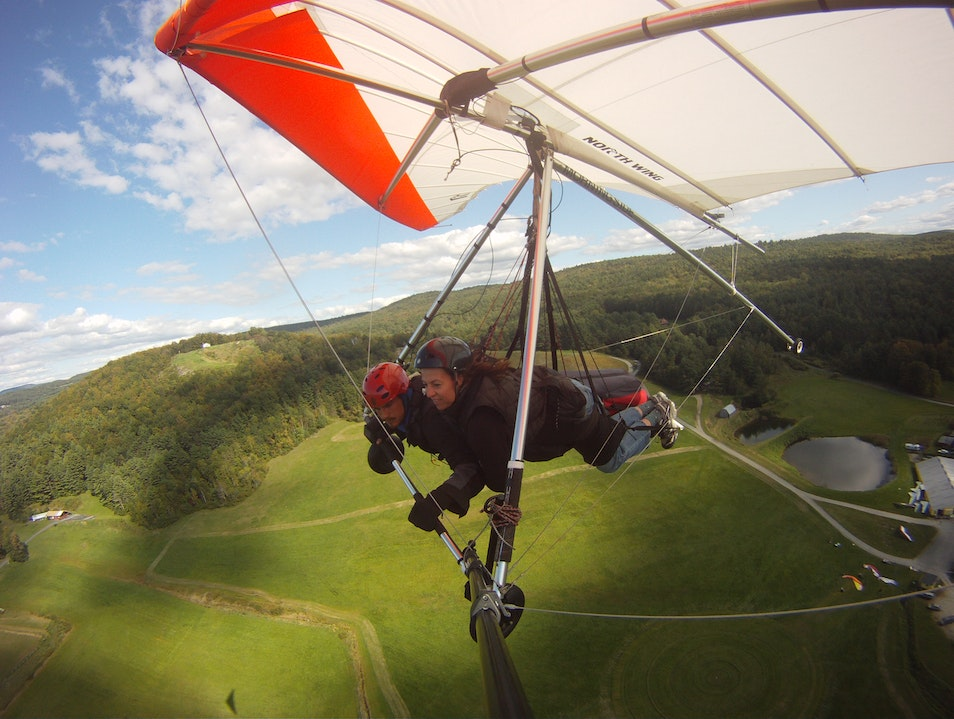 Hang Gliding in New Hampshire Charlestown New Hampshire United States
