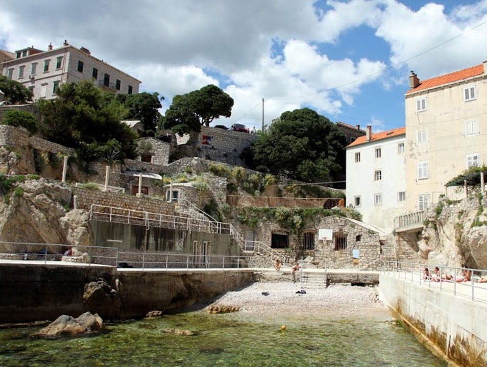 The Charming Dubrovnik Beach Everybody Missed Dubrovnik  Croatia