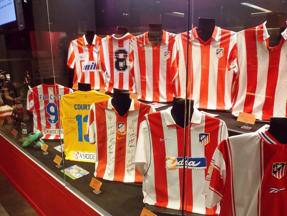 Atletico Madrid's Museum Madrid  Spain