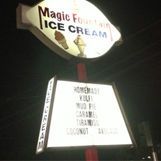 Magic Fountain Ice Cream