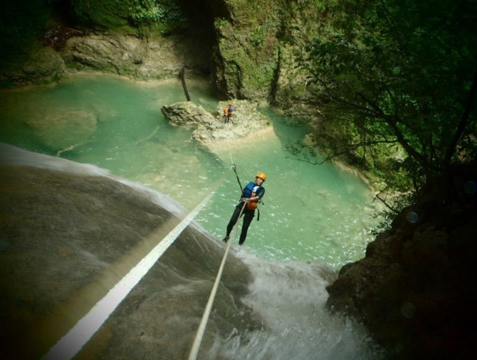 Canyoning the Big Bastard in Cabarete Cabarete  Dominican Republic
