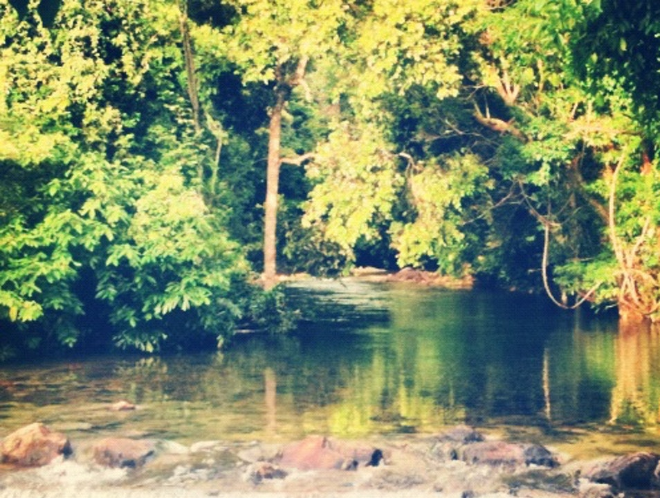 A Hidden Thai Spring Next to the Sea Ko Chang  Thailand